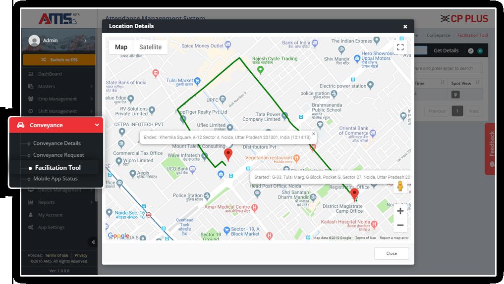 AMS - Attendance Management System